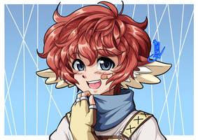 Commission: Tasky by Kurumi-Lover