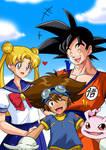 Draw Wednesdays - Week 13: '90s Cartoons by Kurumi-Lover