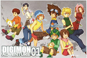 Digimon Adventure 01 by finni
