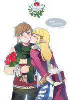 LoZ: Merry Christmas by finni