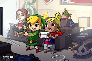 LoZ: A New Generation by finni