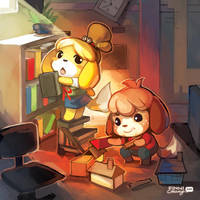 ACNL: Childhood Memories by finni