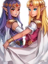 LoZ: Princess Duet by finni