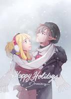 LoZ: Happy Holidays by finni