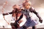 Gaia Online: Battlefield by finni