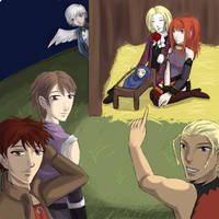 A Shadow Hearts Christmas by Zitruseis