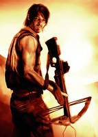 Daryl Dixon by lucife56