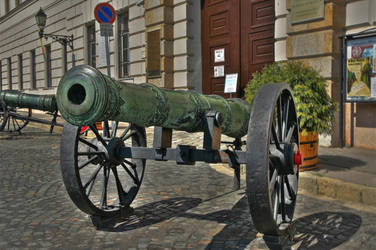 HDR cannon by viktor-wronek