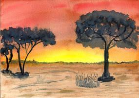 Afrika by oswin-drawings