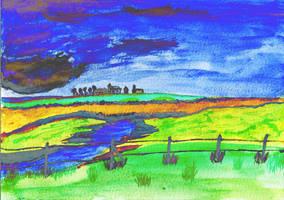 Landscape by oswin-drawings