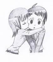 Manga Kiss by oswin-drawings