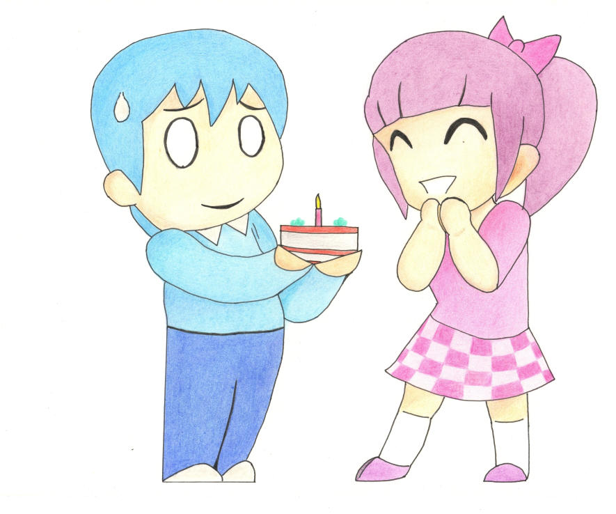Happy Birthday by oswin-drawings