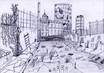dead end by oswin-drawings