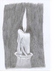 Candle Light by oswin-drawings