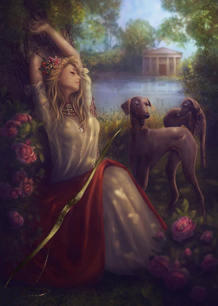 Diana (Artemis) by Lotta-Lotos