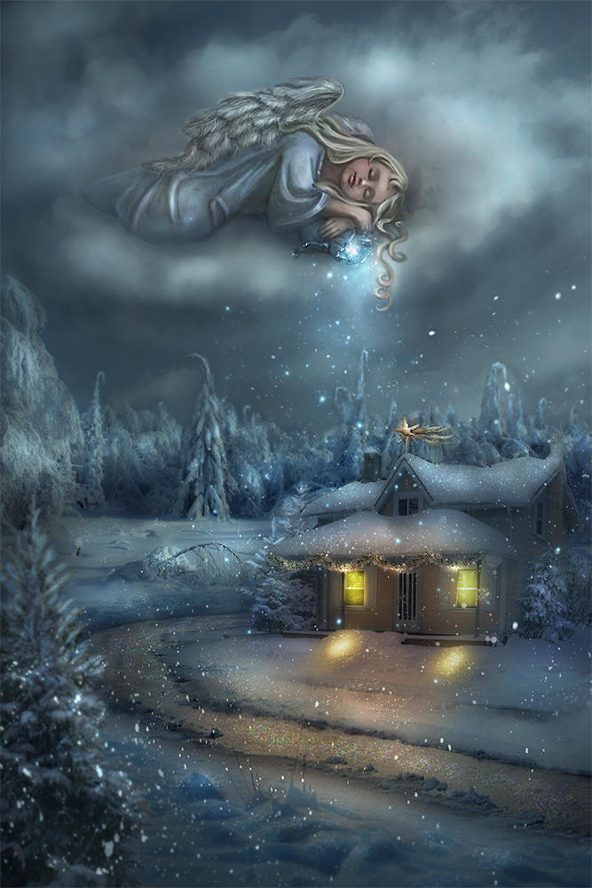 Snow angel by Lotta-Lotos