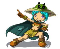 Dofus: Valinia the Cra by tsukino-hikaru