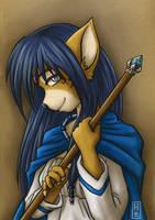 Dragonlords: Priestess Irisva by tsukino-hikaru
