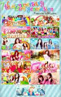 7th Anniversary - GIRL GENERATION by Xeocute2k