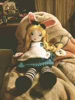 Crochet Alice by brightdarkness7