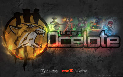 Ocelote wallpaper - LoL by dziufa