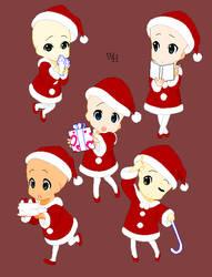 Santa's little Helpers - Bald .::Base::. by xxXWitch-HazelXxx