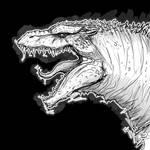 Godzilla 2000 sketch by SpaceDragon14