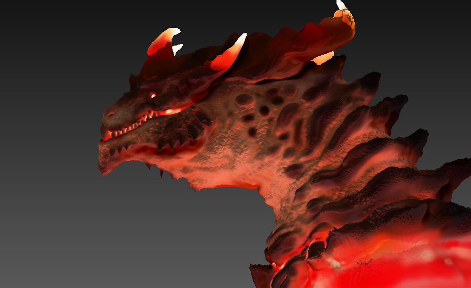 Molten Dragon 1 by SpaceDragon14
