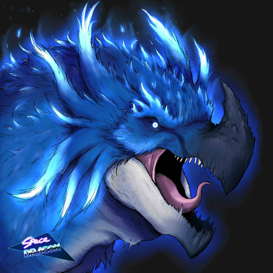Blue Rocva by SpaceDragon14