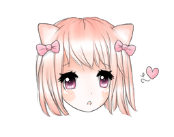 Nyasu - Headshot Gift for Pomii /u\ OC by Ririiyu