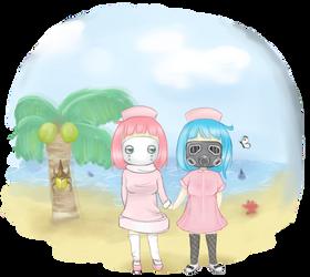 Jasmin and I - Animal Crossing Fan Art by Ririiyu