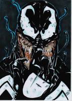 venom portrait 1 by darkartistdomain