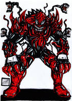 spiderman venom carnage merge redo by darkartistdomain