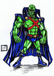 martian manhunter prize by darkartistdomain