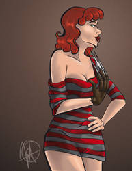 Pin up - Nightmare on Elm Street by M-nav