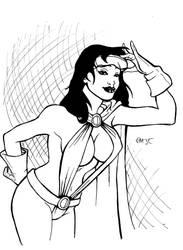 Phantom Lady- Inked by mdjc