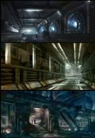 Spaceship Interiors pt. 1 by Vablo