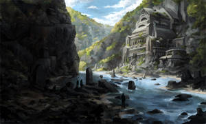 River of Ruins by Vablo