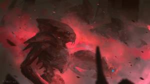 Alien Invasion by Vablo