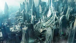 Scifi City 2 by Vablo