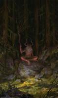 Prophet of Dark Forest by Vablo