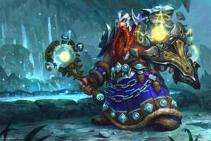 Dwarf Shaman - WoW: Legion by Vablo