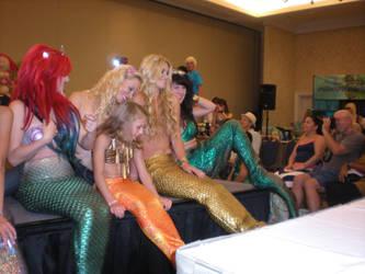 Mermaid Pageant Posing by onelilmermaid