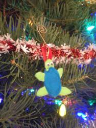 Felt Turtle Ornament by onelilmermaid
