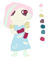 Creppy Pastel Fem Chibi by Shatterflowerdemon