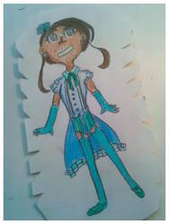 Blue magical girl OTA by Shatterflowerdemon