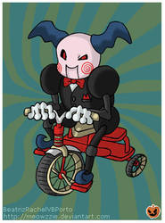 Mr. Mime as the Jigsaw Puppet by Meowzzie
