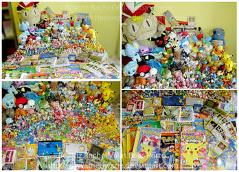 My pokemon collection - updated by Meowzzie