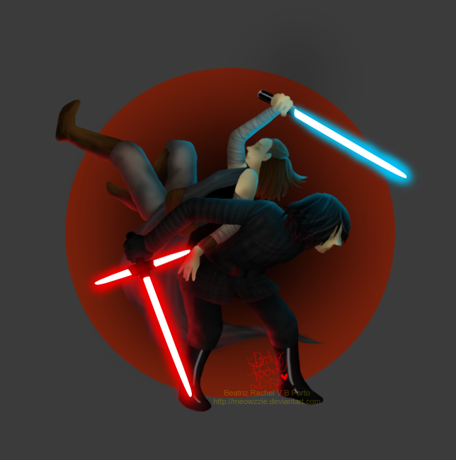 When the force finds balance by Meowzzie