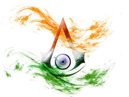 Assassin's Creed: Indian Tricolour by prerakr